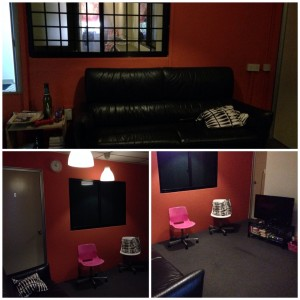 @bukit timah - Living room collage